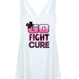 Workout Vest Fight Cancer Top