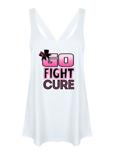Workout Vest Fight Cancer Top