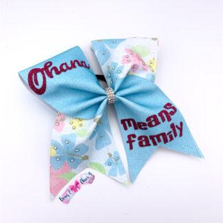 Cheer bow ohana Cheerschleife Cheerbow